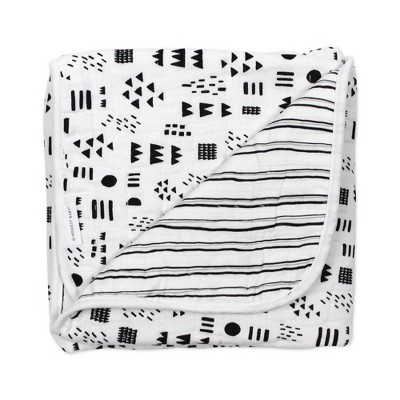 Honest Baby Organic Cotton Quilted Receiving Blanket - Pattern Play