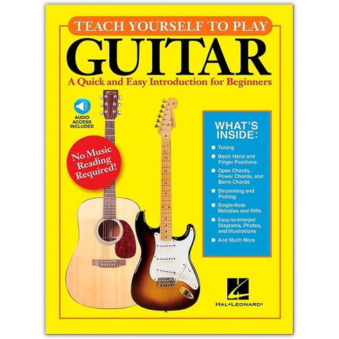 Hal Leonard Teach Yourself to Play Guitar Book/Online Audio - image 1 of 1