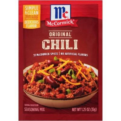 McCormick Chili Seasoning Mix Original - 1.25oz