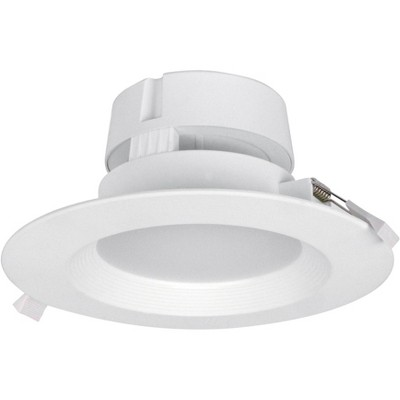 """Can and Housing Free 6"""" White LED Snap Trim Downlight"""