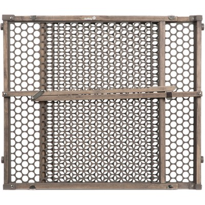 Safety 1st Wood Gate - Vintage Gray