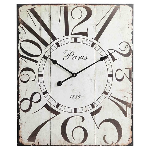 Redding Wall Clock Vintage Off-White - Cooper Classics® - image 1 of 2