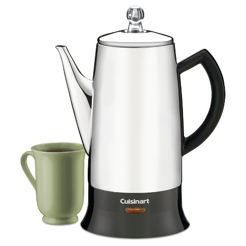 Cuisinart® Classic 12-Cup Percolator - Stainless Steel Prc-12 - image 1 of 4