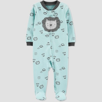 Baby Boys' Lion One Piece Pajamas - Just One You® made by carter's Blue Newborn