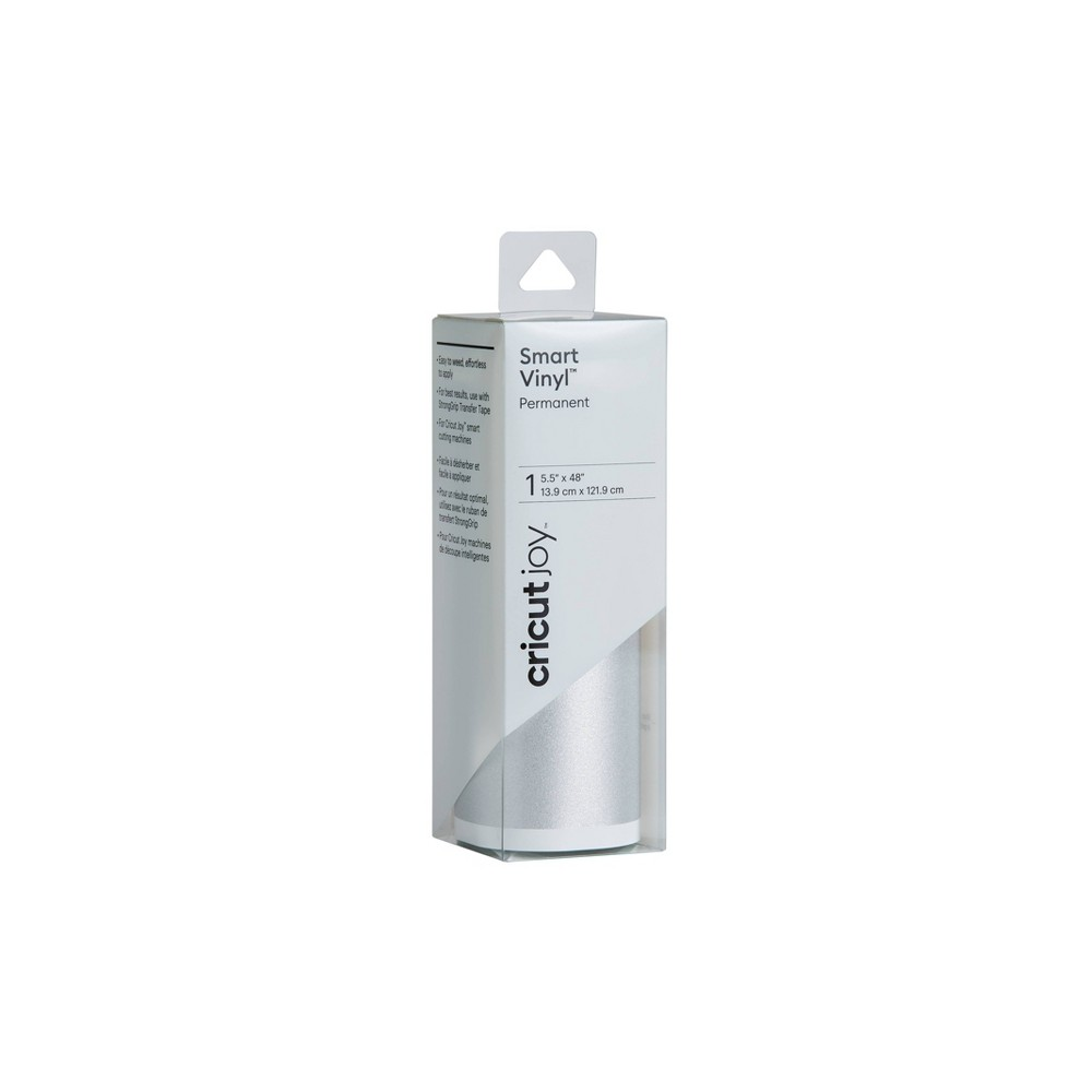 Cricut Joy Shimmer Permanent Smart Vinyl Silver