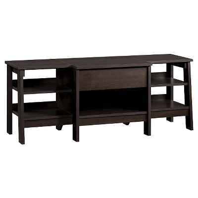 Trestle Entertainment Credenza Espresso - Room Essentials™