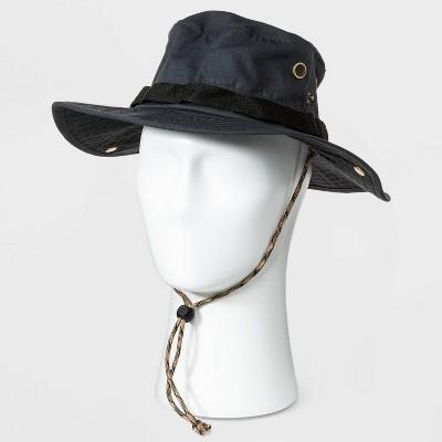 Men's Ripstop Bonnie Hat - Goodfellow & Co™ Black L/XL