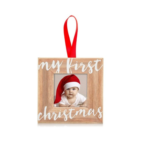 Pearhead My First Christmas Wooden Ornament - image 1 of 4
