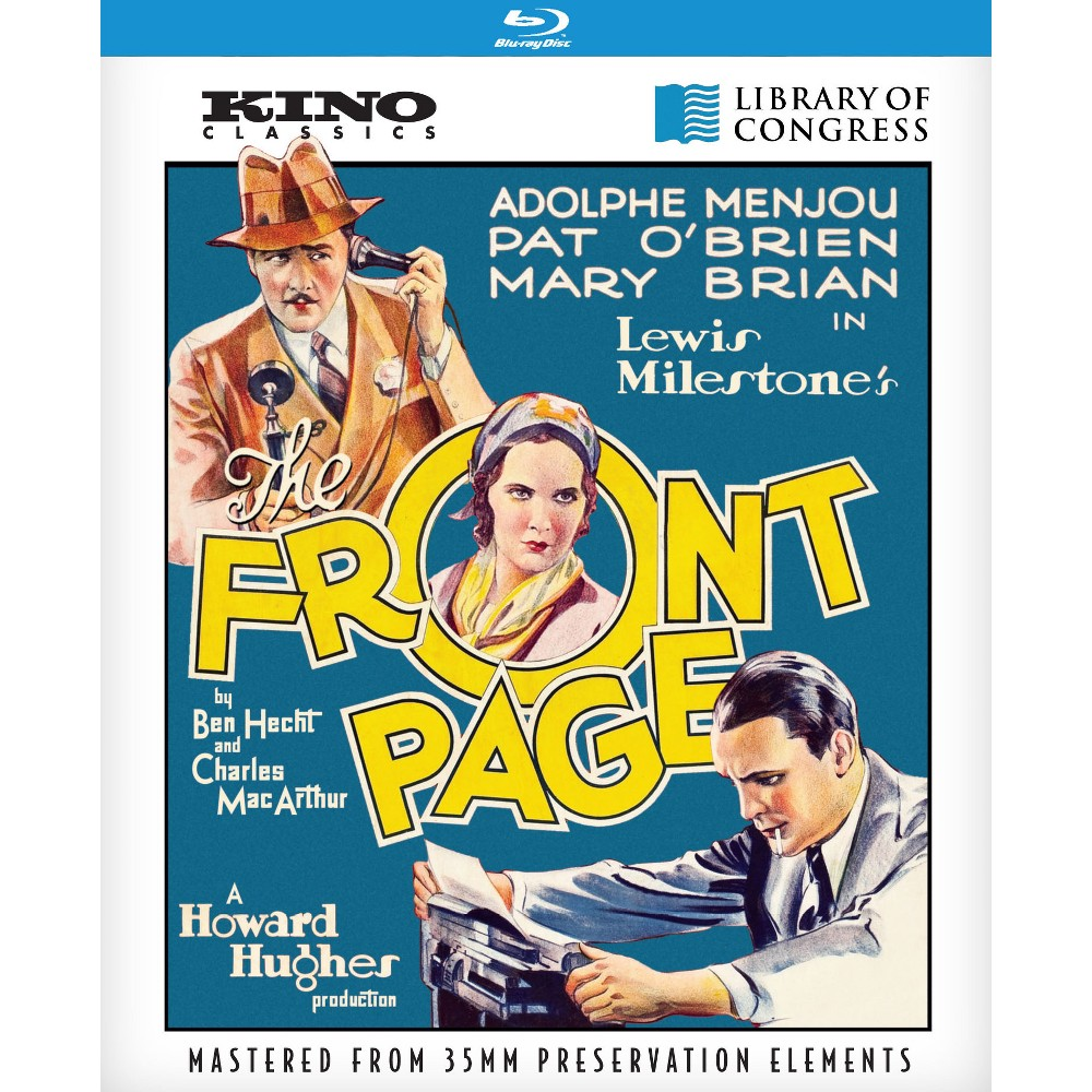 Front Page (Blu-ray), Movies
