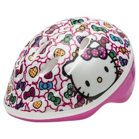 1b4b040ddb86e Hello Kitty Toddler Bike Helmet - White Pink   Target