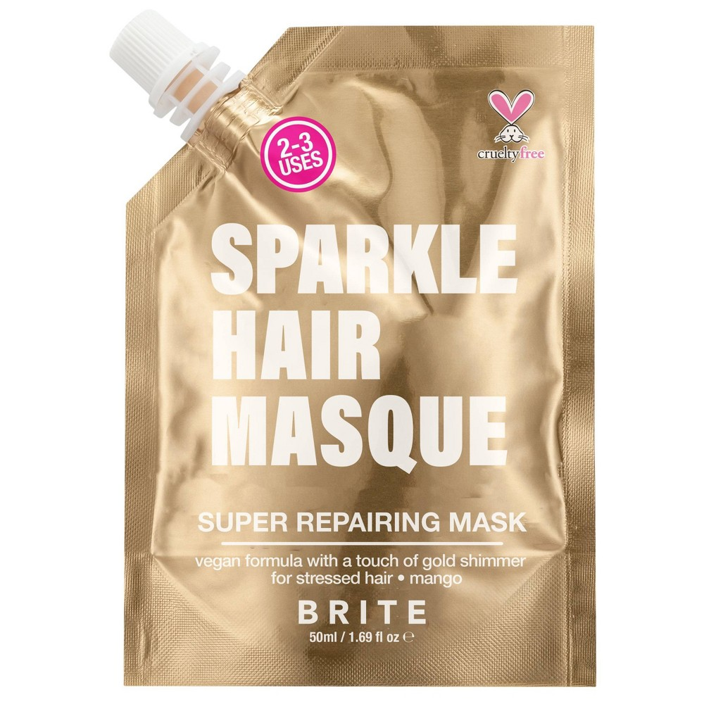 Image of Brite Glitter Hair Mask Gold - 1.69 fl oz
