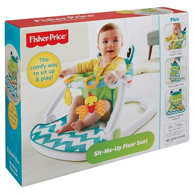 Fisher Price Sit Me Up Floor Seat   Citrus Frog
