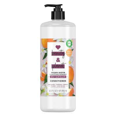 Love Beauty and Planet Vegan Biotin and Sun-Kissed Mandarin Conditioner - 32 fl oz