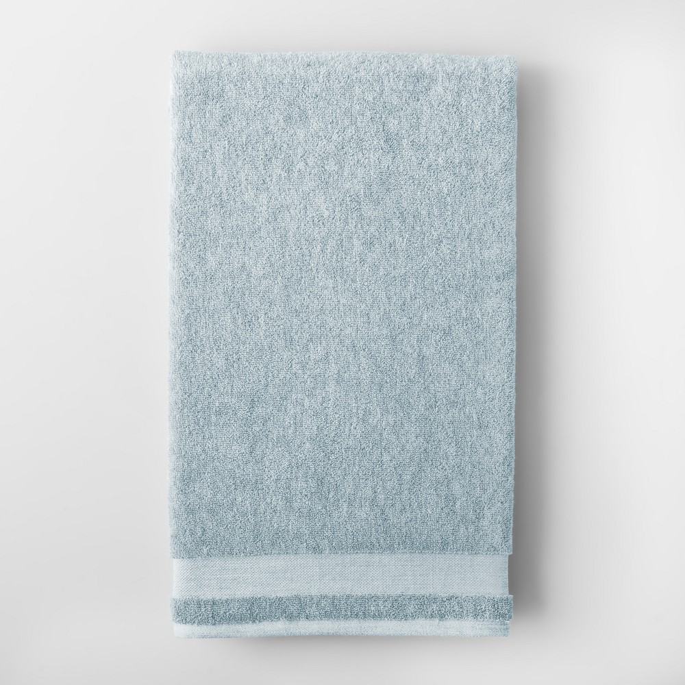 Best Sale Solid Bath Sheet Aqua Blue Made By Design