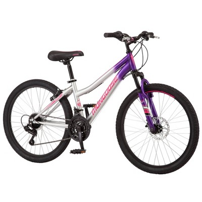 "Mongoose Scepter 24"" Kids' Mountain Bike - Purple"