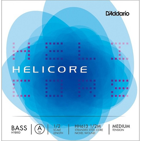 D'Addario Helicore Hybrid Series Double Bass A String - image 1 of 2