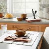 4pc Cross Weave with Fringe Napkin Set Pumpkin Brown - Hearth & Hand™ with Magnolia - image 2 of 3