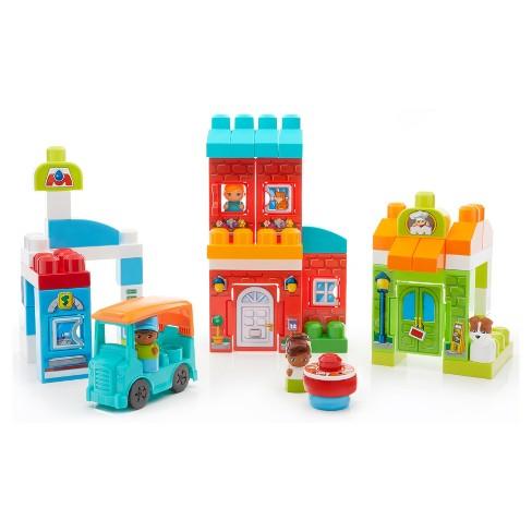 Mega Bloks Day in Town Block Set - image 1 of 4