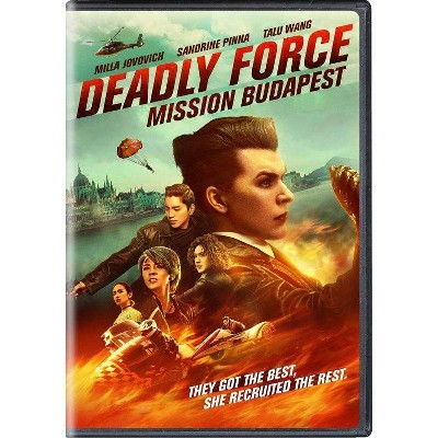 Deadly Force: Mission Budapest (DVD)(2021)