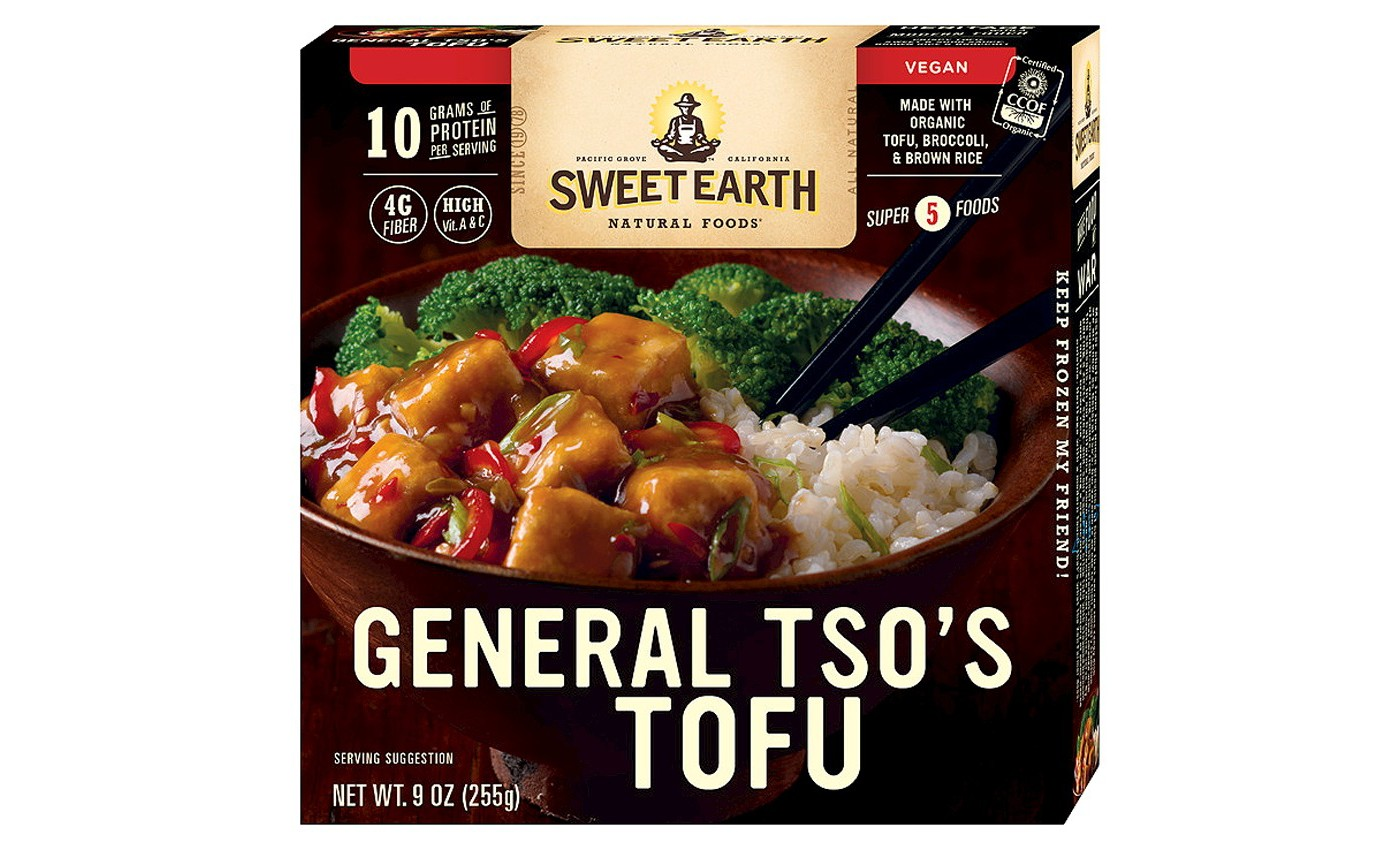 Sweet Earth Natural Foods General Frozen Tso's Tofu - 9oz - image 1 of 1