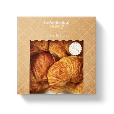 Butter Croissants - 10.1oz/4ct - Favorite Day™