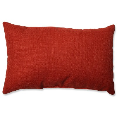 Pure Shock Square Throw Pillow Red - Pillow Perfect