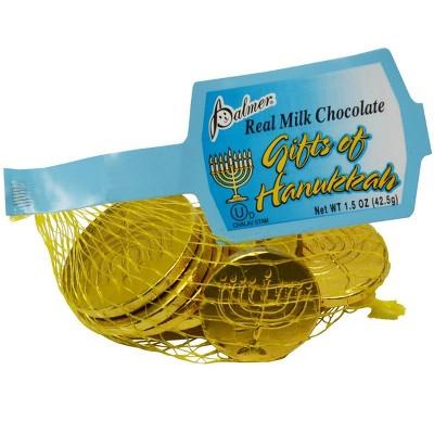 Palmer Chocolate Hanukkah Coins - 1.5oz