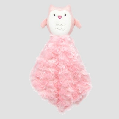 Baby Girls' Owl Cuddle Plush Blanket - Just One You® made by carter's White