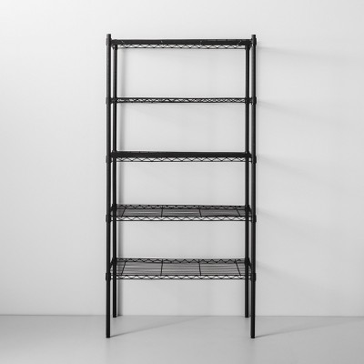 5 Tier Wire Shelf Black - Made By Design™