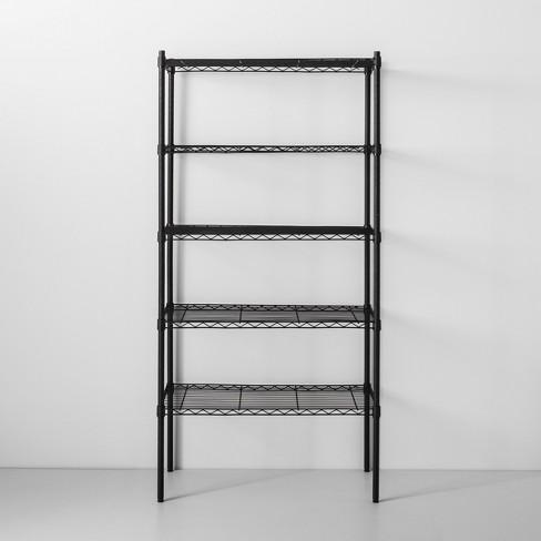 5 tier wire shelf made by design target. Black Bedroom Furniture Sets. Home Design Ideas