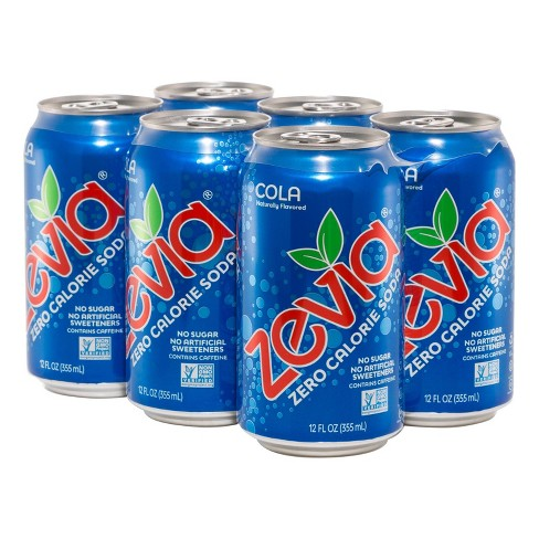 Zevia Cola Zero Calorie Soda - 6pk/12 fl oz Cans - image 1 of 4