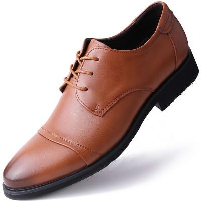 Mio Marino - Men's Standard Toe Laced Dress Shoes
