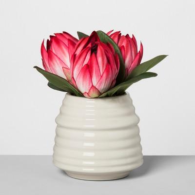 Artificial Protea Arrangement - Pink - Opalhouse™