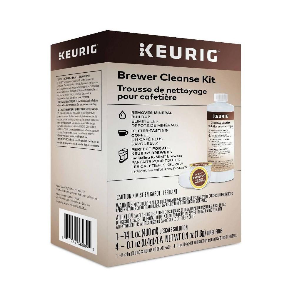 Keurig Brewer Cleanse Kit