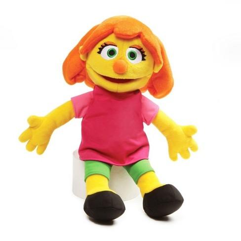 "Enesco Sesame Street 14"" Julia Character Plush - image 1 of 1"