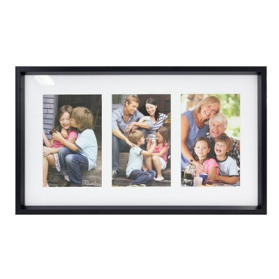 Decorative Collage Single Frame with Clothespin Clips White - Stonebriar Collection