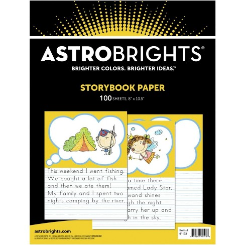 Astrobrights Storybook Paper, 8-1/2 x 10-1/2 Inches, 100 Sheets - image 1 of 1
