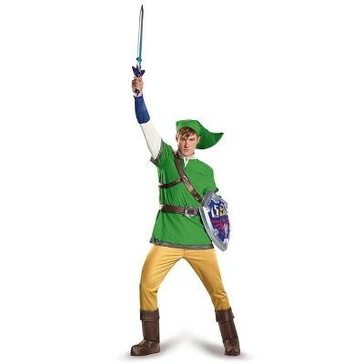 Disguise Legend Of Zelda Link Deluxe Costume Adult Costume