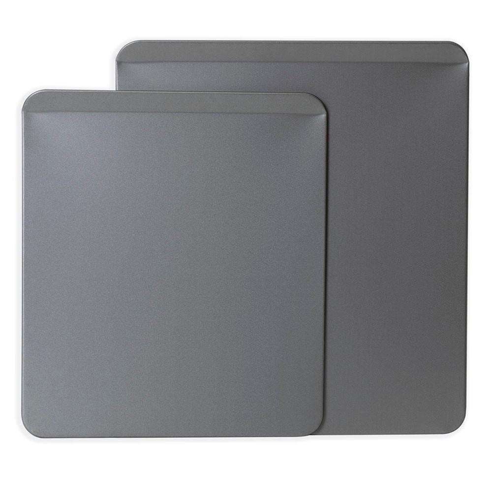 Image of OvenStuff 2pc Cookie Slider Set Gray