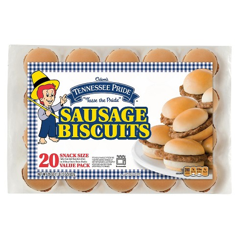 Tennessee Pride Sausage Frozen Biscuits - 20pk - image 1 of 1