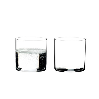 Riedel 0414/01 O Crystal Dishwasher Safe Stemless Water/Wine Tumbler Glasses (2 Pack)