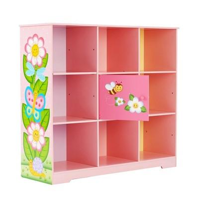 Magic Garden Adjustable Cube Bookshelf Pink - Fantasy Fields by Teamson Kids