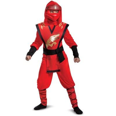 Ninjago Kai Legacy Jumpsuit Deluxe Child Costume
