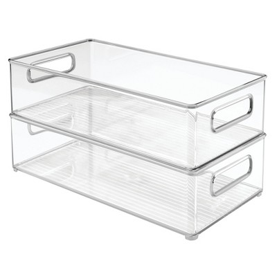 InterDesign Storage Bins 14 X8  2pk