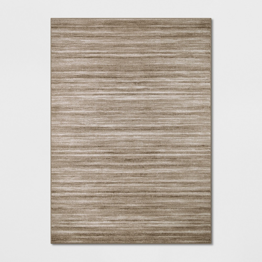 5'X7' Thin Stripe Tufted Area Rugs Copper (Brown) - Project 62