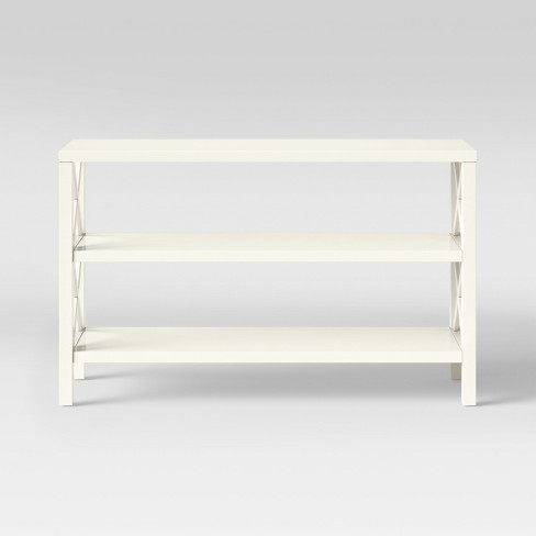 buy popular 3a60e 44b9b Owings Console Table with 2 Shelves- Off White - Threshold™