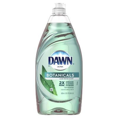 Dawn Ultra Botanicals Dishwashing Liquid Dish Soap - Aloe Water - 28 fl oz