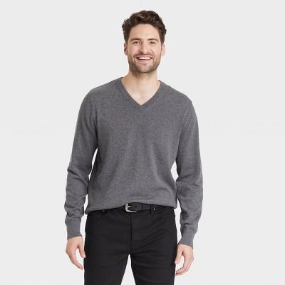 Men's Regular Fit V-Neck Pullover Sweater - Goodfellow & Co™
