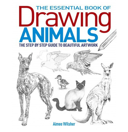 The Essential Book of Drawing Animals Adult Coloring Book: The Step-by-step Guide to Beautiful Art Work - image 1 of 1