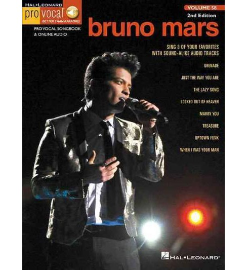 Bruno Mars : With Online Audio (Paperback) - image 1 of 1